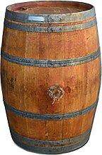 Stehtisch aus Weinfass, Dekofass, Gartentisch aus Holzfass - Fass natur und geöl