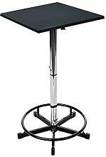 Stehtisch Delforge 70x70 Black Stehbiertisch