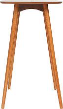 Stehtisch rechteckig Nussbaum BALTIK