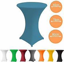 Stehtischhusse Stretch PREMIUM Qualität in Farbe