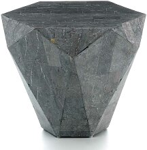 Stein Couchtisch in Grau modern