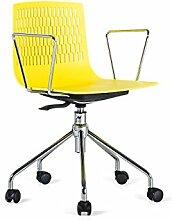 Stein Danny Stühle Büro, Kunststoff, Gelb