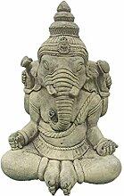 Stein Ganesha Buddha Statue Elefant Ornament