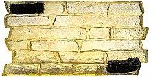 Stein nahtlose Textur 3D PU Matte Haut Beton