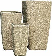 Stein SM Serie, Beige, Sandstone (3 Stück)
