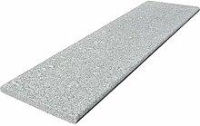 Steinbach Granit Beckenrandstein, Standard, grau, 120x33x3 cm, 1 L, 018100