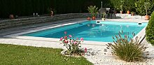 Steinbach Massivpool, Bausatz Highlight de Luxe Top 3, blau, 800 x 400 x 145 cm, 46400 L, 016295L