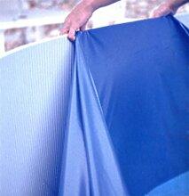Steinbach Poolfolie, rund, blau, Durchmesser 7,32 x 1,50 m, Stärke 0,6 mm, 011934