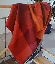 Steinbeck Decke Monza aus 100 % Schurwolle, in