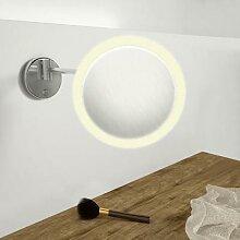 Steinberg Serie 650 LED Wand-Kosmetikspiegel mit