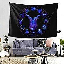 Steinbock Hippie Neon Horoskop Kreis Sternzeichen