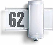Steinel Außenleuchte L 625 Hausnummer beleuchtet