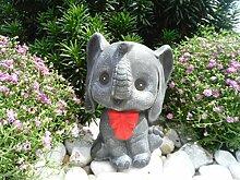 Steinfigur Elefant, 134/1.1 Gartenfigur Steinguss