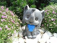 Steinfigur Elefant, 134/1.2 Gartenfigur Steinguss
