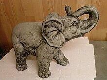Steinfigur Elefanten Elefant Dumbo, Gartenfigur