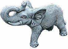 Steinfigur Elefanten Elefant Dumbo Gartenfigur
