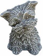 Steinfigur Hund 125/1, Gartenfigur Steinguss