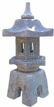 Steinfigur Sakura - Japanische Laterne für den