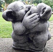 Steinfiguren ca. 11000 gr. schwer Gnom Gollom