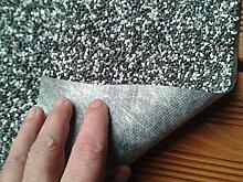 Steinfolie Kiesfolie Teichfolie Granit Grau