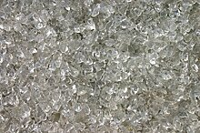 Steingrau Glassplitt Korngrößen 10-30mm glasklar