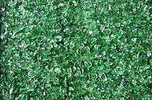 Steingrau Glassplitt Korngrößen 10-30mm grün