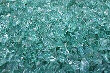 Steingrau Glassplitt Korngrößen 10-30mm