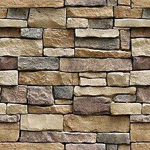 Steintapete zum Abziehen und Aufkleben -