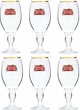 Stella Artois Kelchglas, Acryl, 37 cl, 6 Stück