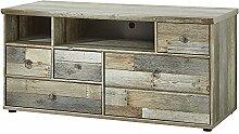 Stella Trading BZDDD01032 Fernsehschrank Driftwood