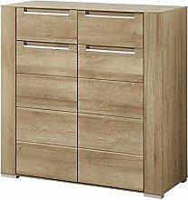 Stella Trading DORR543011 Garderobe, Holz, braun,