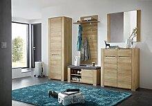 Stella Trading DORR543080 Garderobe, Holz, braun,
