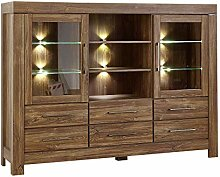 Stella Trading Gent Kommode, Highboard, Holz,