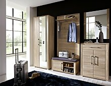 Stella Trading OGHH153080 Garderobe, Holz, braun,