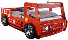 Stella Trading Spark Autobett, Holz, Rot, 225 x