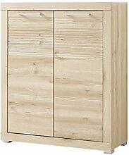 Stella Trading TABB383011 Garderobe, Holz, braun,