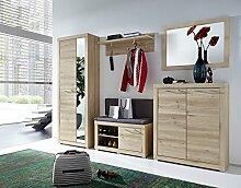 Stella Trading TABB383083 Garderobe, Holz, braun,
