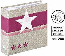 Stellar Fotoalbum für 200 Fotos in 13x18 cm