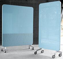 Stellwand LTX Klar Farbig Mobil 150 x 196 cm