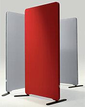Stellwand Raumteiler Lintex Edge Round Akustik