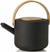 Stelton Teekanne Theo Inhalt 1,25 l schwarz Kannen