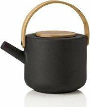 Stelton - Theo Teekanne ohne Sieb 1,25 l, schwarz