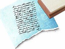 STEMPEL - Vintage Textstempel Vintage Écriture IV