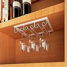Stemware Weinglashalter unter Schrank Edelstahl