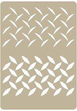 Stencil Airbrushing effekte 003 Diamant Panel. Stencil Grösse: 20 x 30 cm Design Grösse: 19 x 24,1 cm