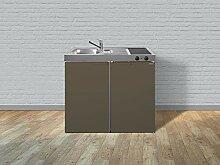 Stengel Miniküche Single Küche 100cm Metall mit