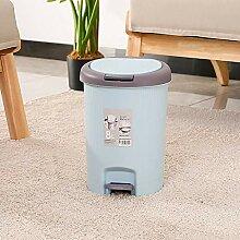 Step-On-Deckel Mülleimer, Küche und Bad Müll,
