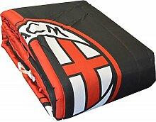 Steppdecke A.C Milan Offizielle Tagesdecke Einzelbe
