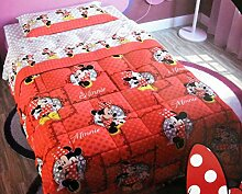 Steppdecke Winter Disney Minnie Mouse Bett Einzelbe