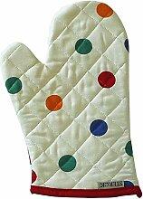 Sterck Küchenschürze, gepunktet mit Handschuh, mehrfarbig, Farbe